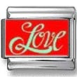 Love in Red Photo Charm